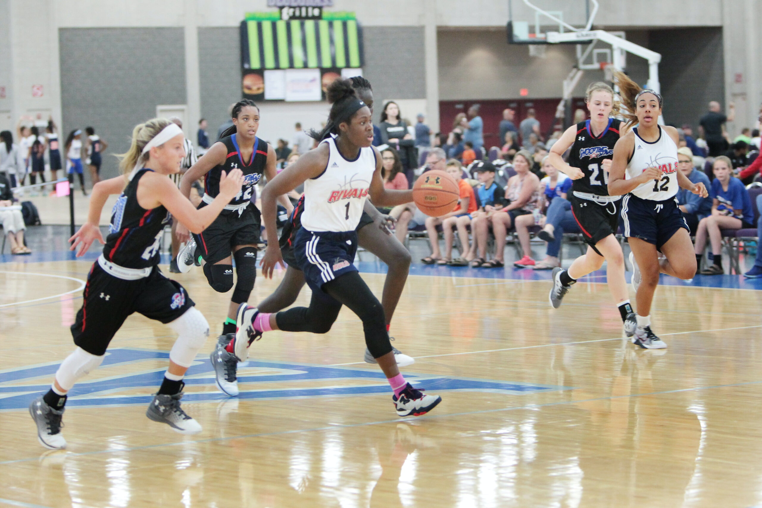 Youth Basketball Tournaments take over the Kentucky Exposition Center